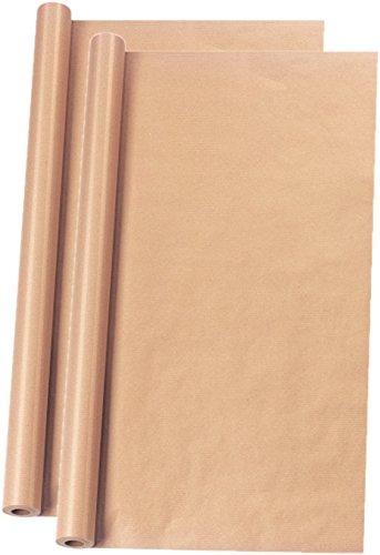 Herlitz 11387248 Packpapierrolle, 10 m x 1 m, braun (10 x 1 m / 2er Pack)