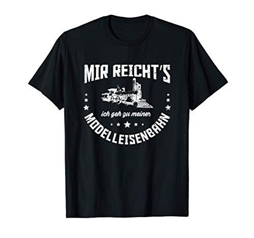 Eisenbahn Modelleisenbahn Modellbau Spruch Leidenschaft T-Shirt