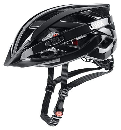 Uvex Unisex– Erwachsene, i-vo 3D Fahrradhelm, black, 52-57 cm
