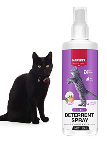 Inscape Data Cat Spray Deterrent, Pet Training Aid with Bitter Anti Scratch Furniture Protector, Keep Cats Off & Indoor & Outdoor Use