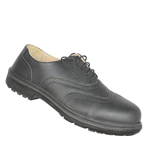 Jallatte Jalarthur SAS S1P SRC zakelijke schoenen werkschoenen plat zwart B-Stock