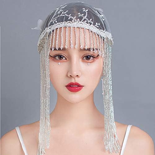 Max 50% OFF Wedding Bridal Hats Fashion Max 43% OFF Fascinators Long Tassel Pa Headpiece