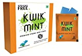 Kwik Mint - Sugar Free Cool Mint Mouth Freshener Breath Strips -Pack of 2 (176 Strips)