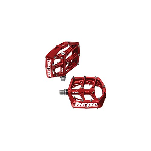 Hope F20 Flat MTB Pedals Red