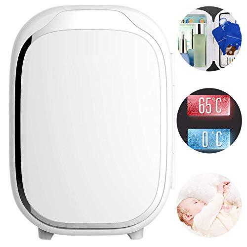 GOLDGOD Mini-Kühlschrank, Bewegliche Thermoelectric Cooler Und Wärmer 6L Leichte Kühlbox Elektrisch Für Muttermilch, Nahrungsmittel, Medikamente