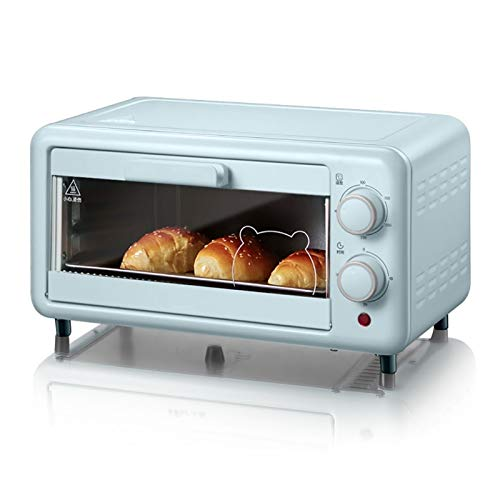 Nostalgia Compact Toaster Oven with Double Infrared Heating, Crumb Tray and 1300 Watts of Cooking Power - 4 Slice Countertop Toaster Oven Compact Size, Easy to Control with Timer-Bake-Broil-Toast Sett