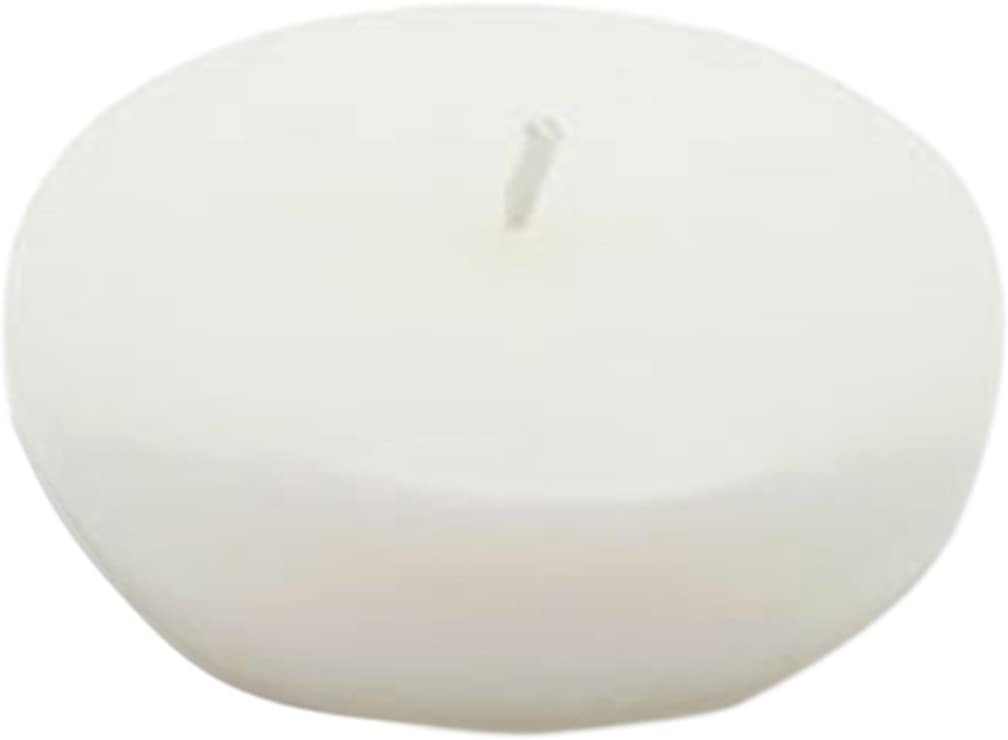 Zest Candle CFZ-023_4 Bombing free shipping 96-Piece High order White Floating 2.25