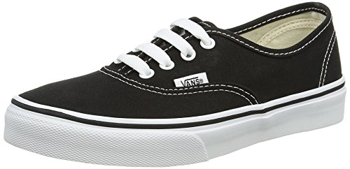 Vans Authentic Sneaker, Unisex Bambino, Nero (Black/True Whit 6BT), 31