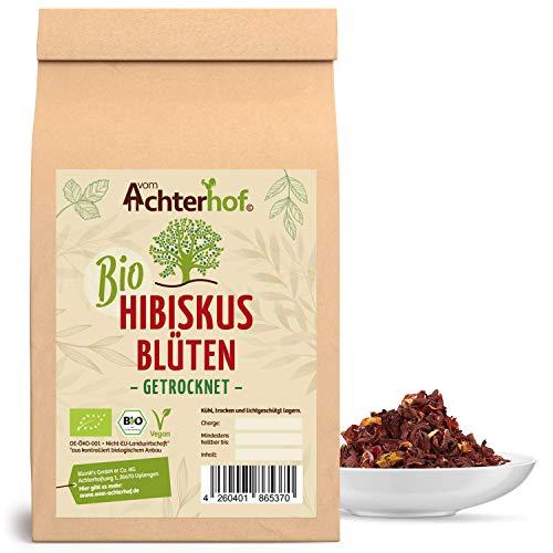 Bio Hibiskusblüten Tee (1kg) ganz getrocknet Hibiskusblütentee hibiscus flowers organic