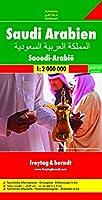 Saudi Arabia Road Map 1:2 000 000 (Freytag & Berndt road map)