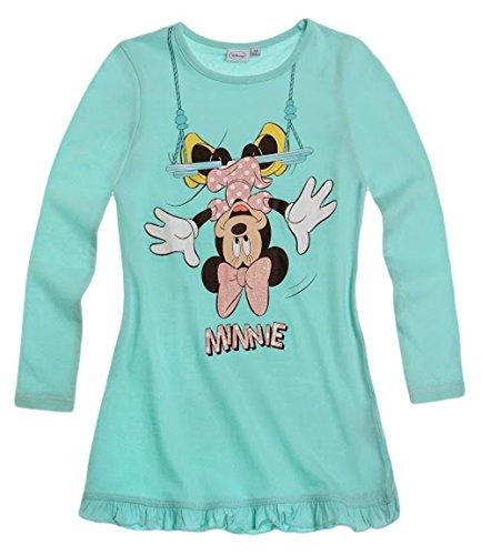 Minnie Mouse Kollektion 2014 Nachthemd 86 92 98 104 110 116 122 128 Mädchen Neu Nachtwäsche Maus L14 Hellblau (86 - 92)