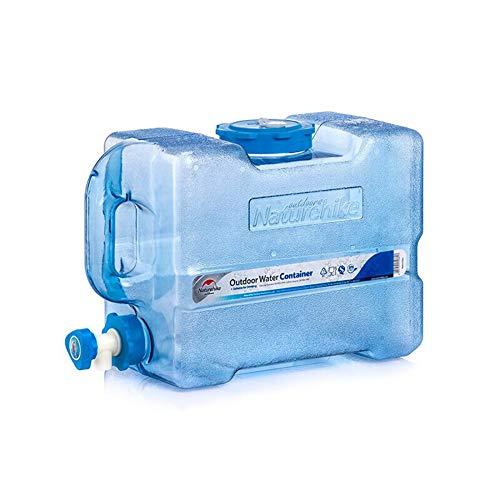 YXYXX Portátil Bidón Tanque De Agua, con Grifo, para Camping, Picnic, Senderismo, Viajes y Preparación para Emergencias, etc. / azul / 12l