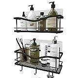 KINCMAX Shower Caddy Bathroom Shelf, No Drilling Traceless Adhesive Bathroom Storage Organizer, SUS304...