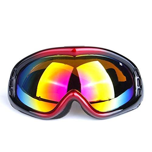 Gafas de Sol Gafas De Esquí Profesionales Gafas De Moto Parabrisas protección para los Ojos (Color : A)