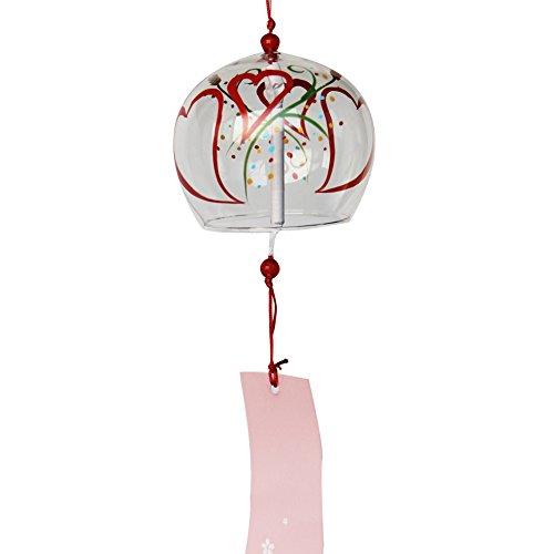ACEVER - Campanillas de cristal japonesas para decoración de boda, hogar, cocina, oficina, spa, jardín, patio, decoración