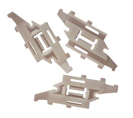 myshopx C53 Clips de fixation porte Crochets pare-chocs Clips Fixation barre de pare-chocs d'ornement de pression de plastique Rivets schlagniete niete
