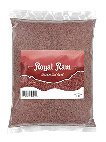3 Pounds Natural Red Maroon Decorative Sand - for Interior Decor, Vase Filler, Sand Crafts, Aquariums and More …