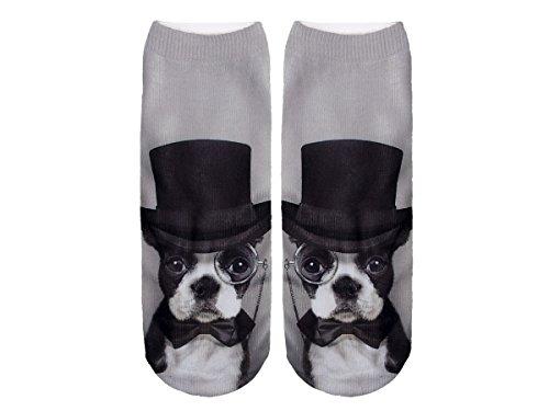 Unbekannt Socken bunt mit lustigen Motiven Print Socken Motivsocken Damen Herren ALSINO, Variante wählen:SO-L039 H&