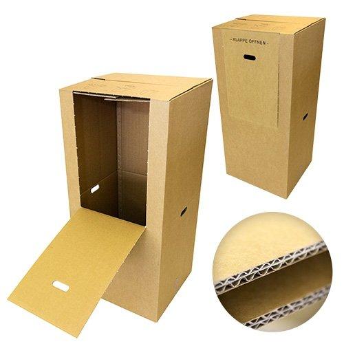 2 Kleiderboxen Spedition 2.60 BC Welle 600 x 510 x 1350mm thumbnail
