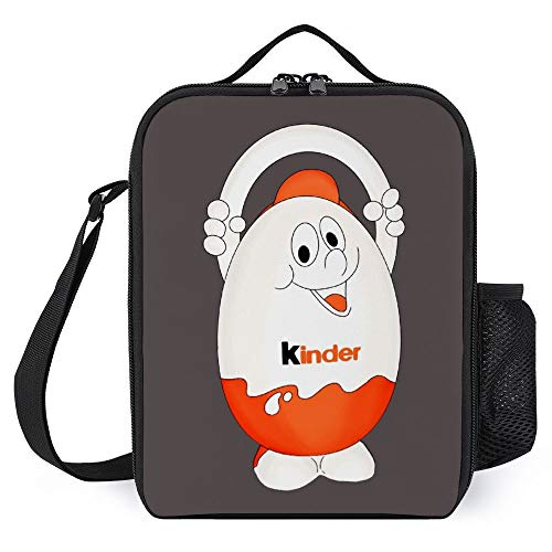 Egg Kinder Box Best Chocolate Apron 3D Thermal Insulation and Warm Lunch Bag can be Frozen Tote Bag Waterproof Picnic