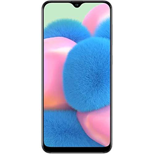 Samsung Galaxy A30s SM-A307FN/DS Dual Sim 32GB + 3GB Ram (LTE At&t Euro Africa Cuba Digitel) w/Triple (25MP+8MP+5MP) Camera - GSM Only, No CDMA International Version (Prism Crush White)