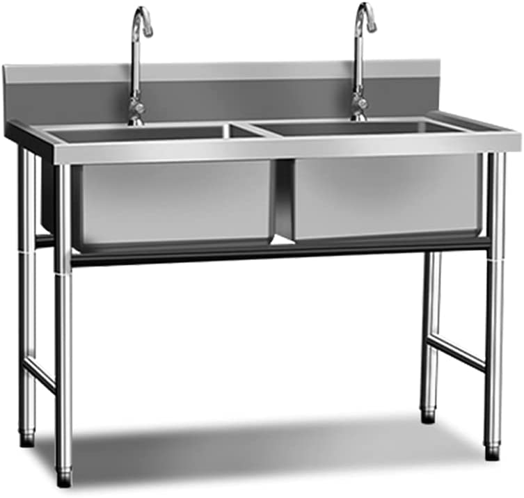 Free Standing Stainless-Steel Commercial Super intense SALE Kitchen Sink outlet Restaurant