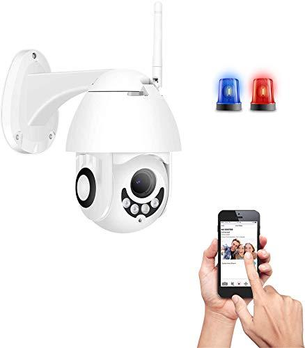 1080p Wifi Kamera 2 MP Wifi PTZ Kamera Outdoor 1080p 4x Digital Zoom Human Detect Speed Dome Kamera Zwei-Wege-Audio Home...