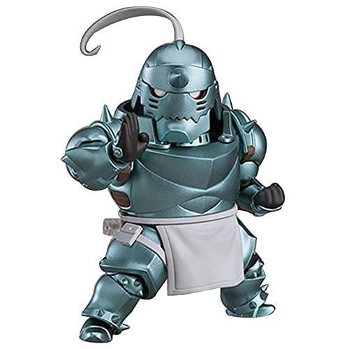 KPSHY Fullmetal Alchemist Alphonse Elric Estatua Variable Móvil Modelo De Escritorio Muñeca De Acción Dibujos Animados Animados Figuras Decoración De Muñecas Figuras Altura 12 Cm