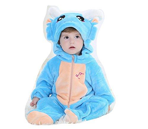OHmais Bébé Fille garçon Unisexe Grenouillère Costume Deguisement Combinaison Pyjamas Hiver Capricorne