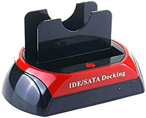 ALL IN 1 HDD Docking Dual Station Hard Drive Disk Dock Docking Station for 2.5/3.5 Inch IDE SATA