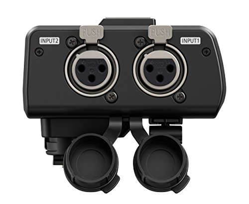 Panasonic DMW-XLR1E XLR-Mikrofonadapter (passend für DC-GH5, für XLR-2-Kanal-Mikrofon) Schwarz