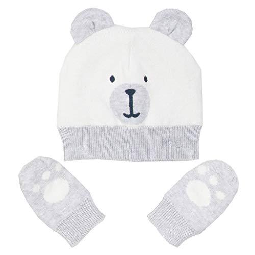 Kite Baby Beary Hat and Mitts | Organic | Newborn-24 Months Cream