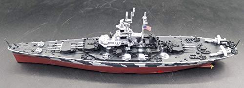 WWII Battleship USS Alabama BB-60 1/1000 diecast Model Ship
