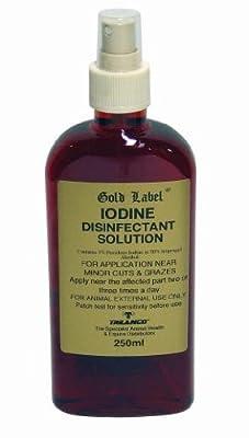 Homebase Gold Label Iodine Spray 2.5% 250ml