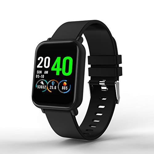 GaLon Aktivitäts-Tracker, 1,3-Zoll-Touchscreen, Informationen Push Herzfrequenz-Blutdrucküberwachung Bewegungsmelder GPS Schlafanalyse Smart Armband IP68 Wasserdichtes Smart-Armband