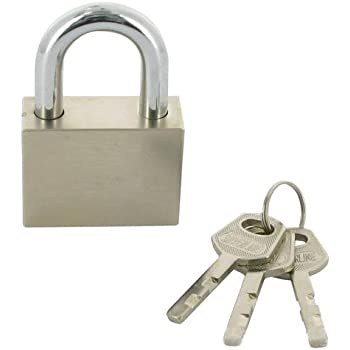 Heavy Duty Long Shackle 70mm Security PADLOCK 3 Keys Garage Home Safety