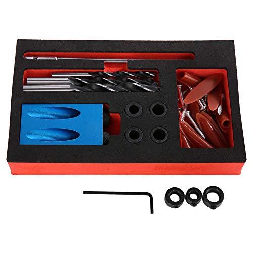 15 Grados de Perforación del Taladro del ángulo del Agujero de Aluminio Carpinteros Perforador de Orificios para Muebles de Madera Proyectos de Carpintería de Bricolaje