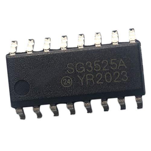 SNOWINSPRING 10PCS SG3525 SG3525A DIP-16 Controlador de Chip de ModulacióN IC Controlador de Interruptor Nuevo y Chipset IC
