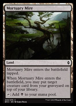 Magic The Gathering - Mortuary Mire (240/274) - Battle for Zendikar