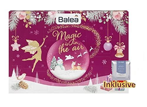 Balea Männer Adventskalender 2020 - idealer Pflege Advent Kalender für den Mann, Beautykalender, Wert 80 €, Kosmetikkalender mit 24 Herren Plege