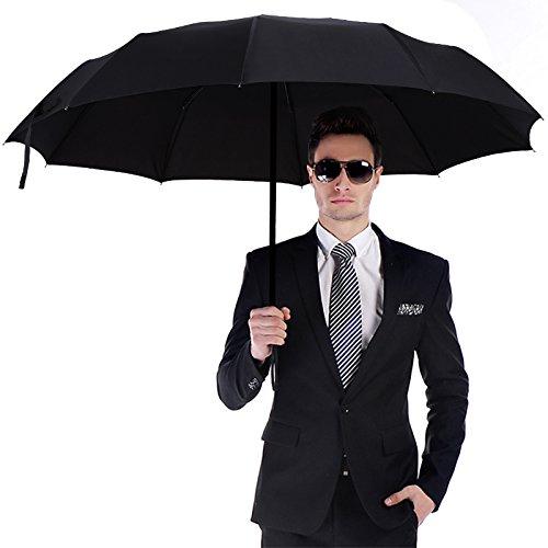 SHYEKYO Paraguas de Lluvia, súper Repelente al Agua y Paraguas Plegable de Secado rápido Paraguas Plegable a Prueba de Viento rápido para Viajes para Pesca