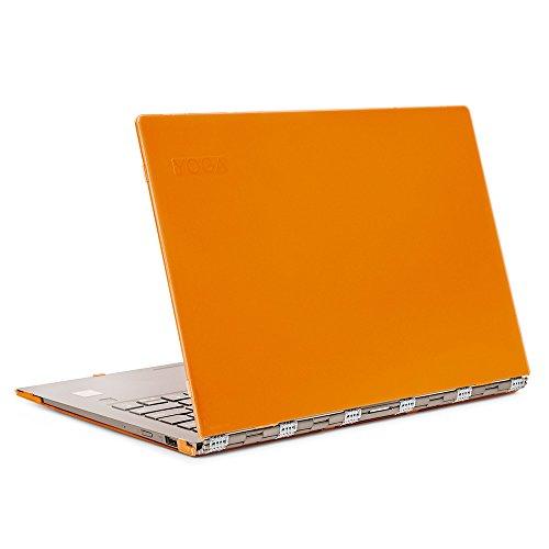 mCover Funda Hard Shell para computadora portátil multimodo Lenovo Yoga 920-13IKB de 13.9' (25.3 cm) (NO se Adapta a Yoga 900/910) (Yoga 920 13,9 Pulgadas, Naranja)