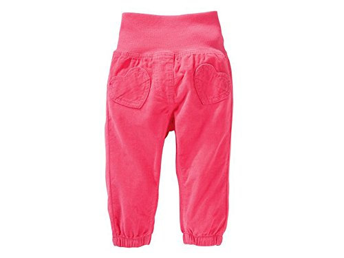 Baby Mädchen Cordhose Cord Hose (68, pink)