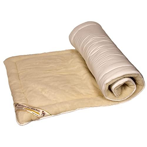 Yogabox Schurwollmatte yogiDeluxe mit Kaschmir 75 x 200 cm, L: 200 cm/B: 75 cm