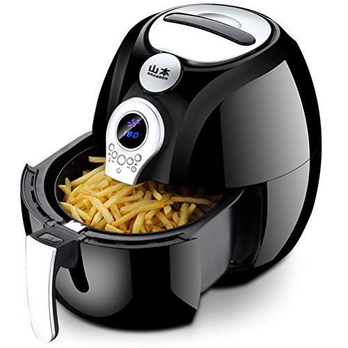 3.2L-Fritteuse 1400W mit Digitalanzeige, Timer und voll einstellbarer Temperaturregelung für gesundes, ölfreies und fettarmes Kochen von Pro Breeze