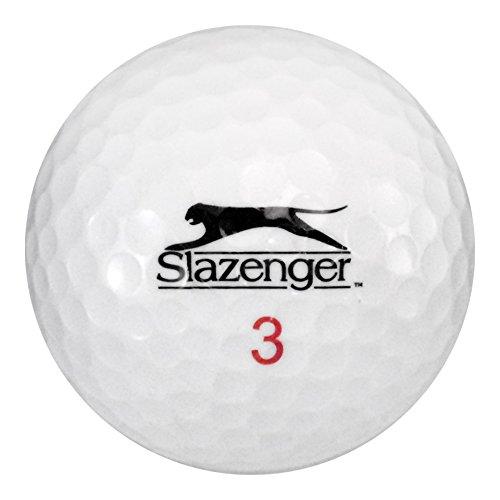 Slazenger Golfbälle, 50 Mix – beinahe Mint (AAAA) Qualität – recycelt (gebraucht)