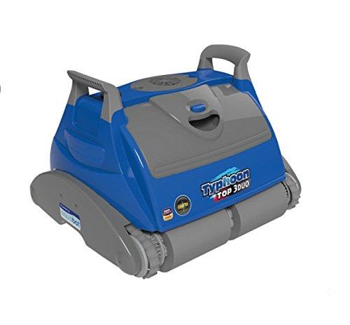 Fluidra/Piscina Robot Per Piscina, Typhoon Top 3Duo, Blu, 45X 45X 35Cm, 66024