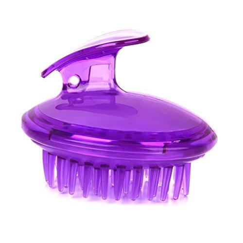 Zcsmg Plastique Cheveux Brosse de lavage de massage du cuir chevelu Peigne (couleur aléatoire)