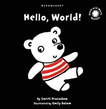 Hello, World!: Black and White Sparkler Board Book [Board book] [May 17, 2010] Smriti Prasadam