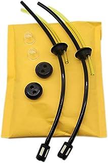 2Pcs Universal Kit Filtro Gasolina Desbrozadora Tubo Gasolina Tubo Carburador Universal Desbrozadora Manguera Gasolina para Desbrozadora Cortadoras Cortacésped